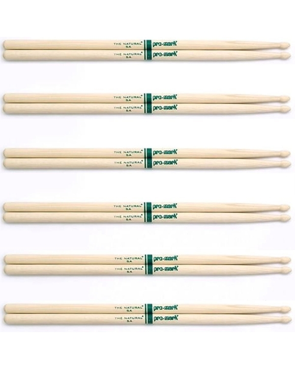 (6) Pairs ProMark TXR5AW Hickory 5A