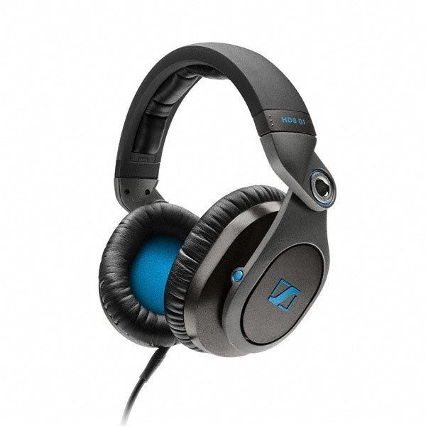 Sennheiser HD8 DJ Closed DJ Headphones with Swivel Cups and Case