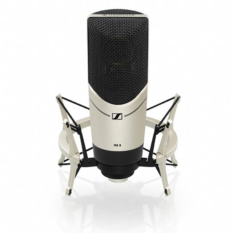 Sennheiser - MK8 - Large Multi Pattern Condensor Studio Microphone