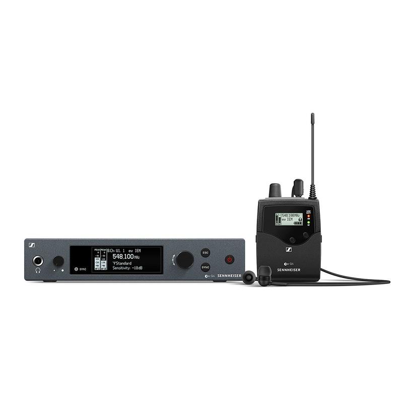 Sennheiser EW IEM G4 4th Gen Wireless In-Ear Monitor System, A Band