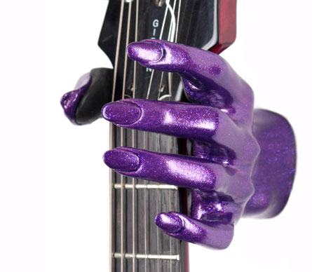 Grip Studios Guitar Hangers GS-Ladies Series Wall Mounting Bolt Cosmic Purple