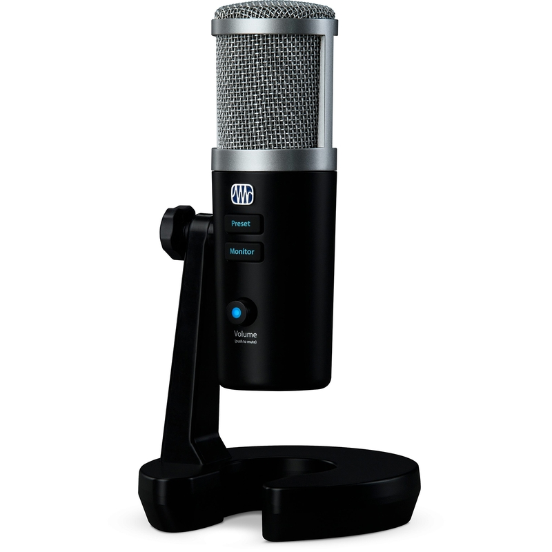 PreSonus Revelator USB-C Microphone with StudioLive Voice Effects Processing