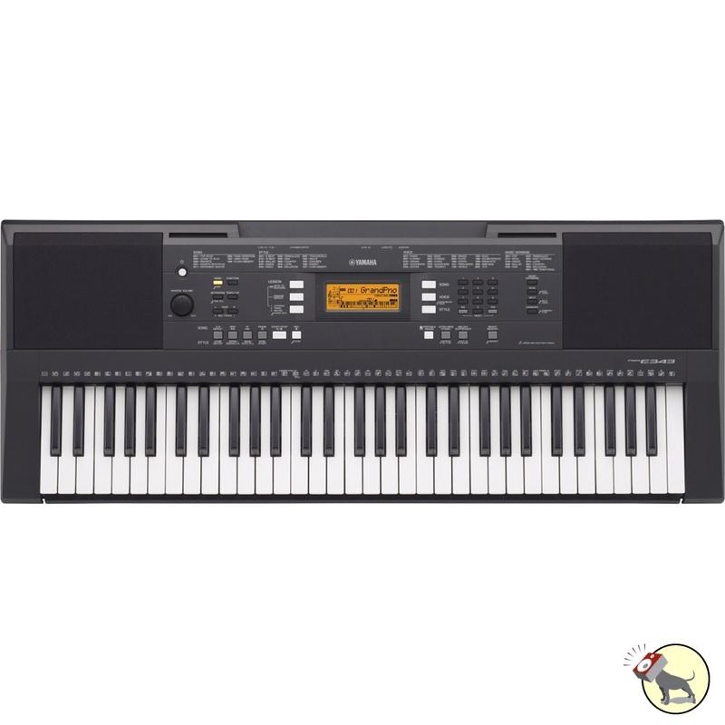 Yamaha PSR-E343 Portable 61-Key Touch Response Keyboard