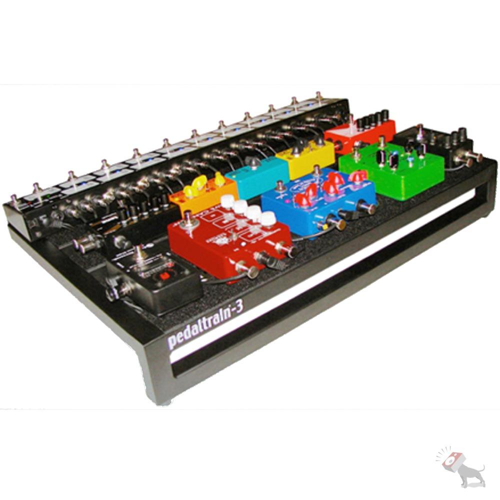 pedaltrain 3 pt 3 sc pedal board with soft case pedalboard pt3sc ebay. Black Bedroom Furniture Sets. Home Design Ideas