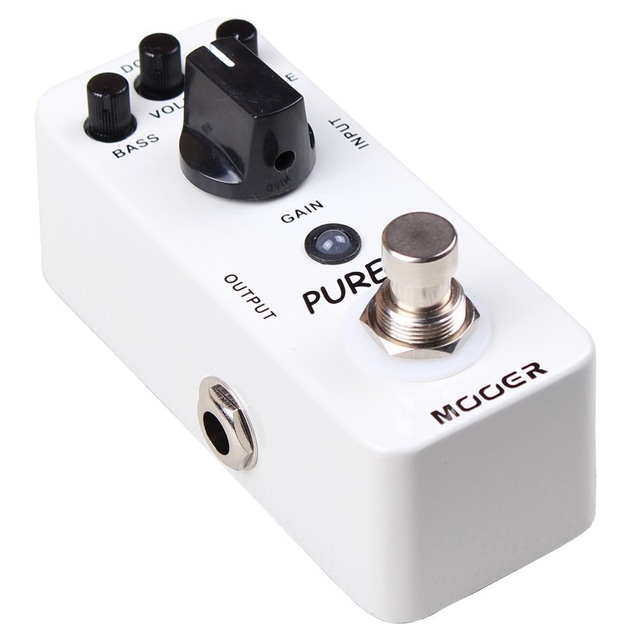 Mooer Pure Boost Clean True Bypass Effects Guitar Pedal