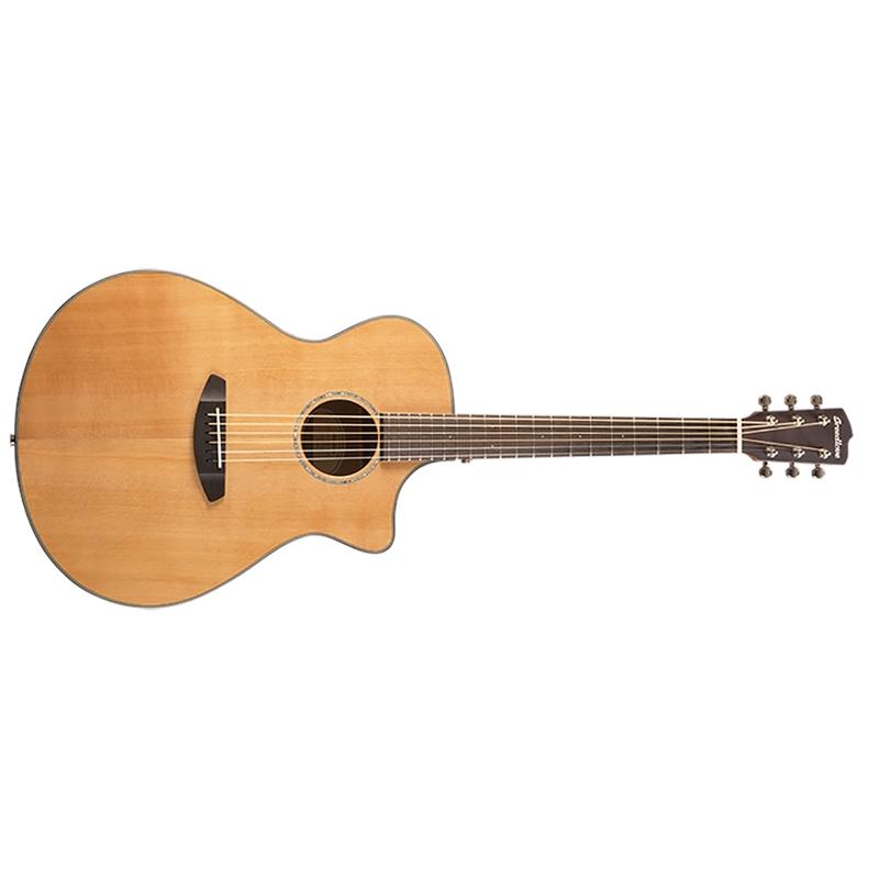Breedlove Pursuit Concerto Acoustic-Electric Guitar, Solid Western Red Cedar Top
