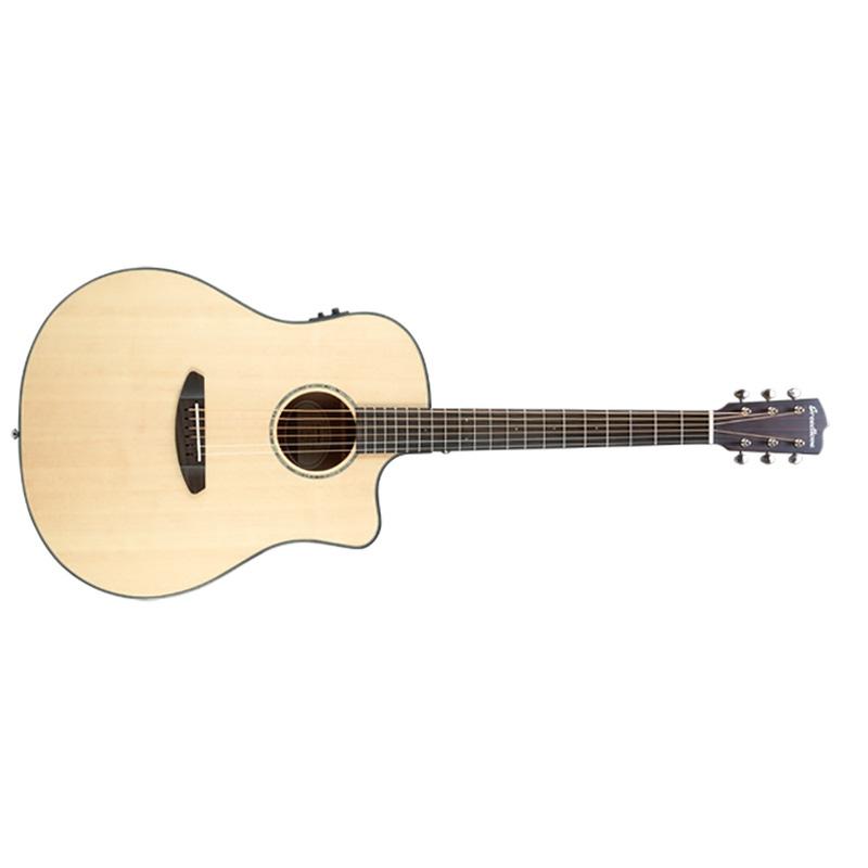 Breedlove Pursuit Dreadnought Acoustic-Electric Guitar - Natural