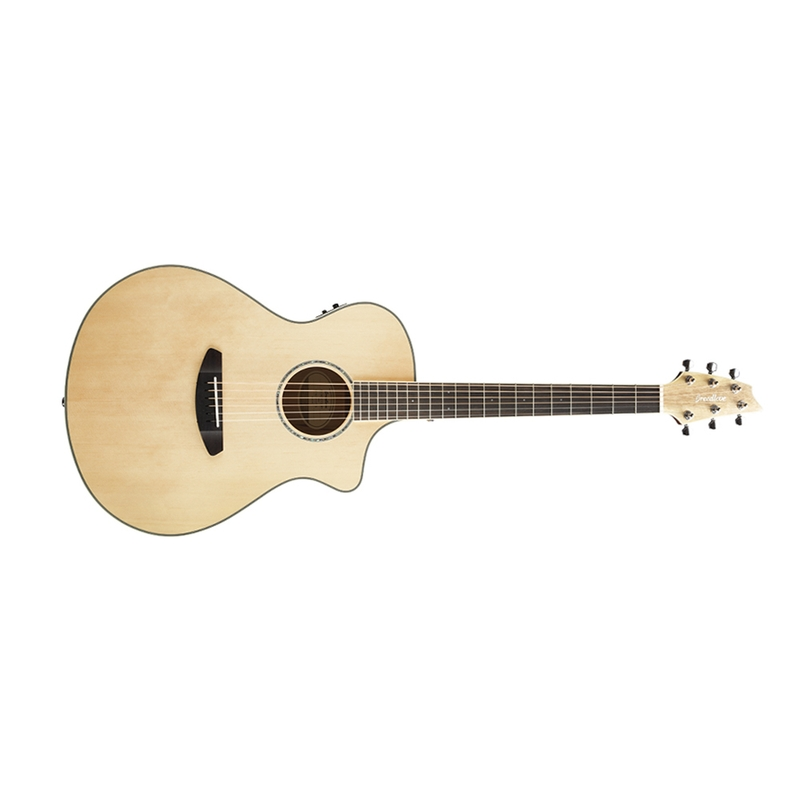Breedlove Guitars Pursuit Exotic Concert CE Acoustic Electric Guitar, Sitka Spruce - Myrtlewood,  w/ Bag