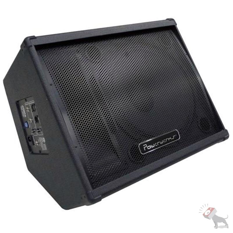 "Powerwerks PW10PM 50-Watt Active Powered 10"" Monitor Speaker Cabinet PW10 PM"