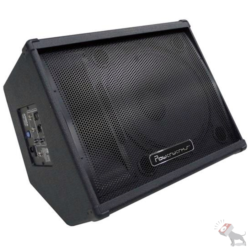 "Powerwerks PW15PM 100-Watt Active Powered 15"" Monitor Speaker Cabinet PW15 PM"