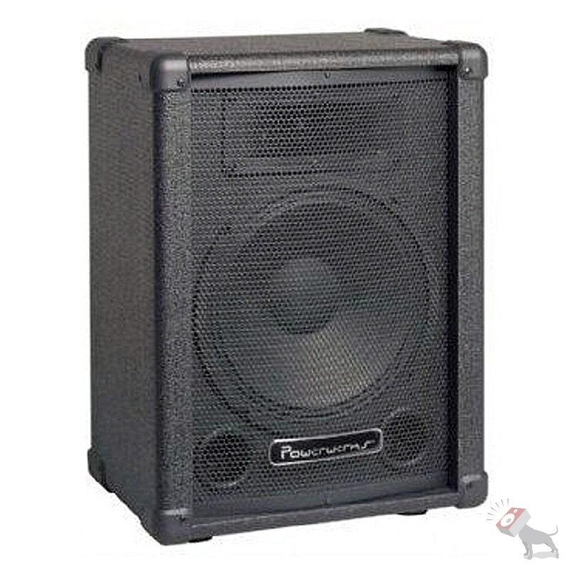 "Powerwerks PW10PS 50-Watt Active Powered 10"" PA Speaker Cabinet PW10 PS"
