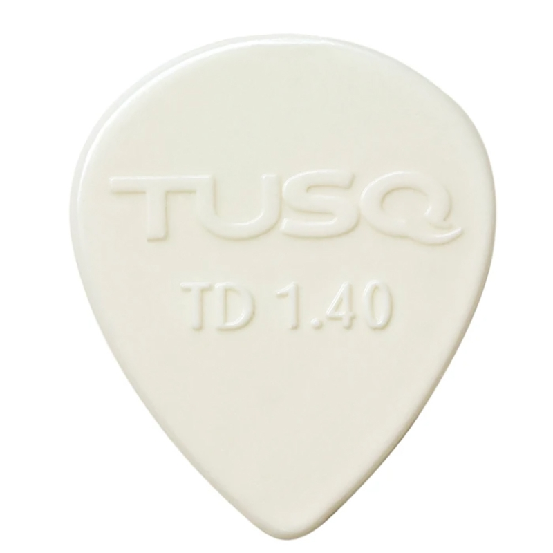 Graph Tech Tusq Tear Drop Guitar or Bass Picks 6 Pack, Bright Tone, 1.4mm