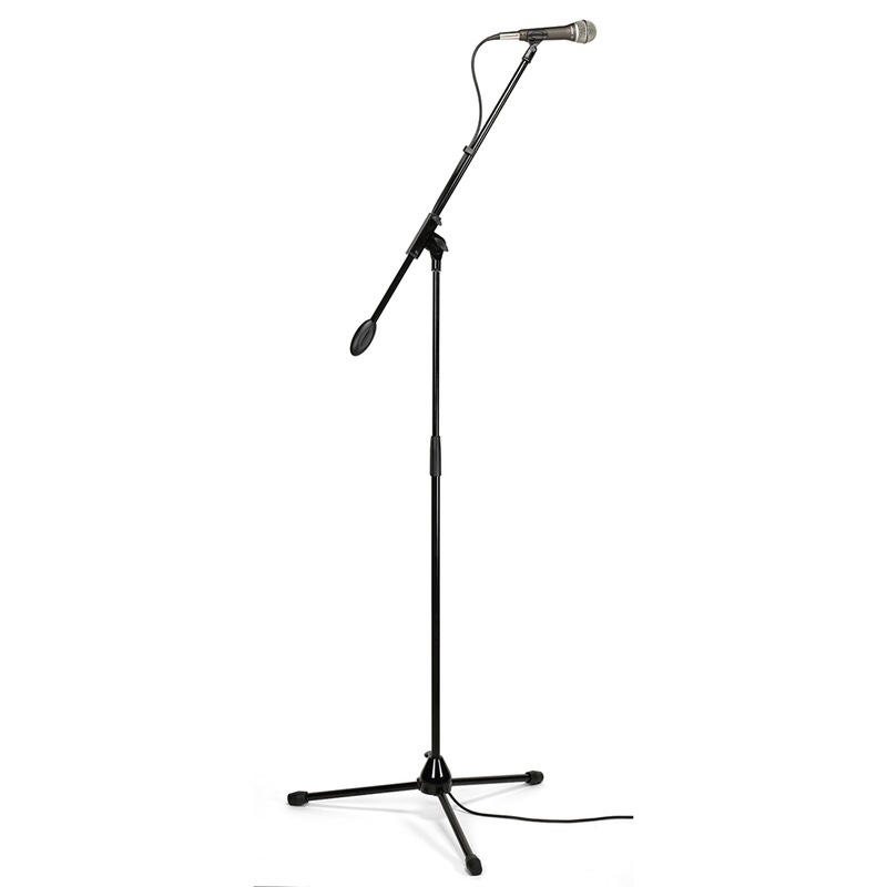 Samson Q7VP Complete Dynamic Set with Microphone, Boom Stand, Clip, and 25 ft Cable