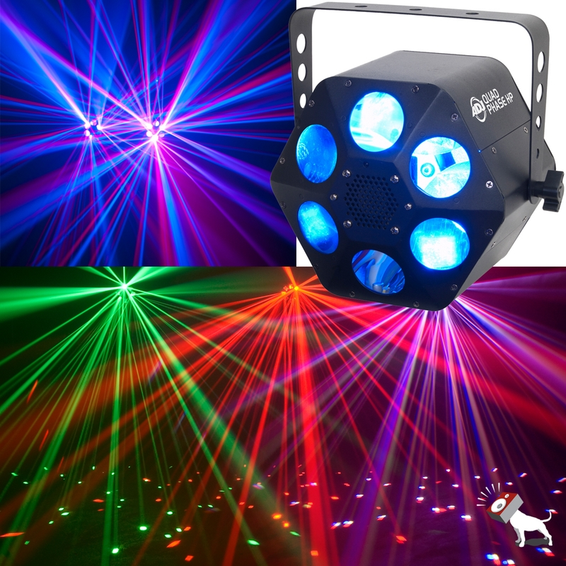 American DJ Quad Phase HP 32 Watt RGBW LED DMX Effect Light