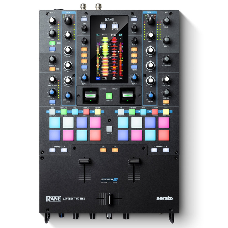 Rane SEVENTY-TWO MKII Premium 2-Channel Serato Mixer with Multi-Touch Screen
