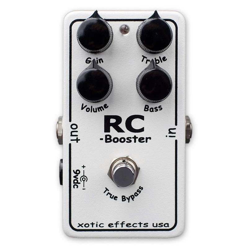 Xotic Effects USA RC Booster Clean Boost Guitar Effects Pedal (Default)