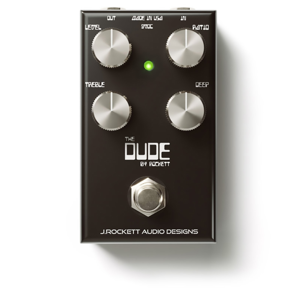 J Rockett Audio Designs The Dude V2 Overdrive Guitar Effects Pedal