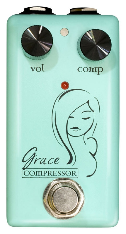 Red Witch 7 Sisters Grace Compressor Guitar Effects Pedal