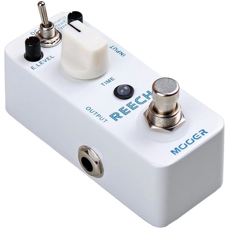 Mooer Reecho Analog Delay + Real Echo + Tape Echo Compact Guitar Effect Pedal