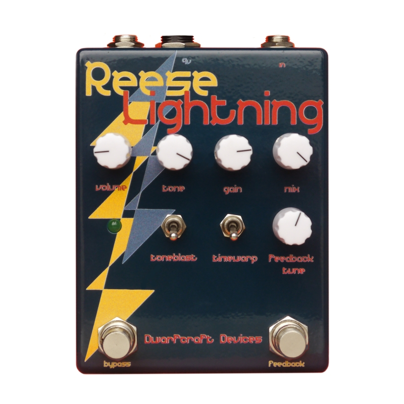 Dwarfcraft Devices Reese Lightning Distortion Guitar Effects Pedal