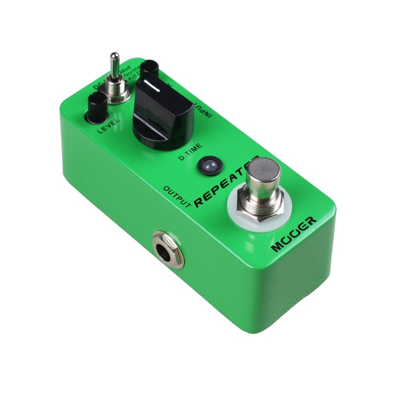 Mooer Repeater digital delay ture bypass effects guitar pedal