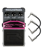 Rocktron Reaction Series Octaver Guitar Effects Pedal with Patch Cables