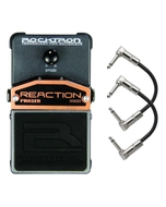 Rocktron Reaction Series Phaser Guitar Effects Pedal with Patch Cables