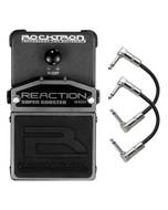 Rocktron Reaction Series Super Booster Guitar Effects Pedal with Patch Cables