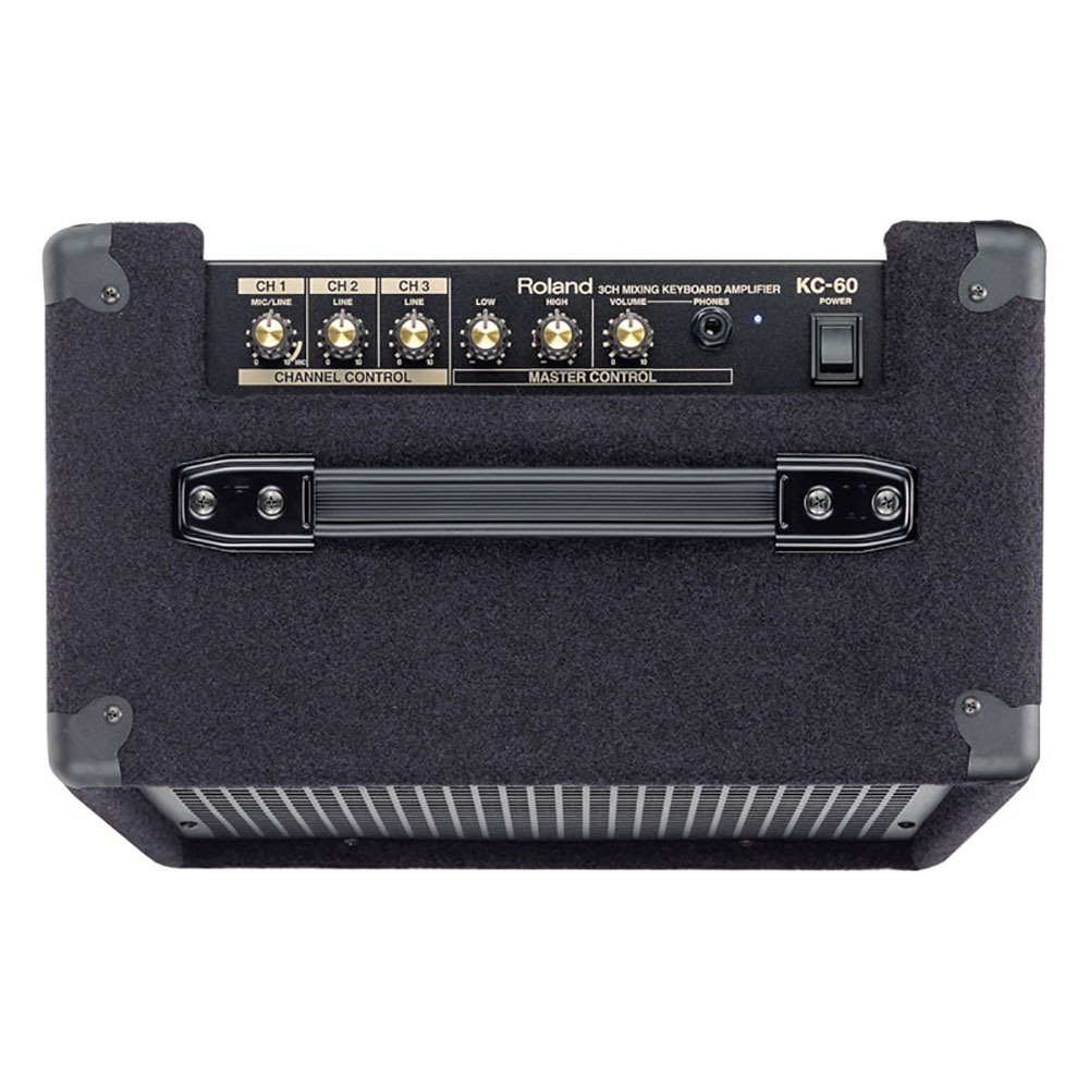 pitbull audio roland kc 60 keyboard amplifier with 3 channel mono mixer. Black Bedroom Furniture Sets. Home Design Ideas