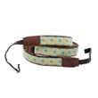 RightOn! Straps Uke Dual H Pineapple Ukulele Strap, 1'' Wide, 40''-53'' Long