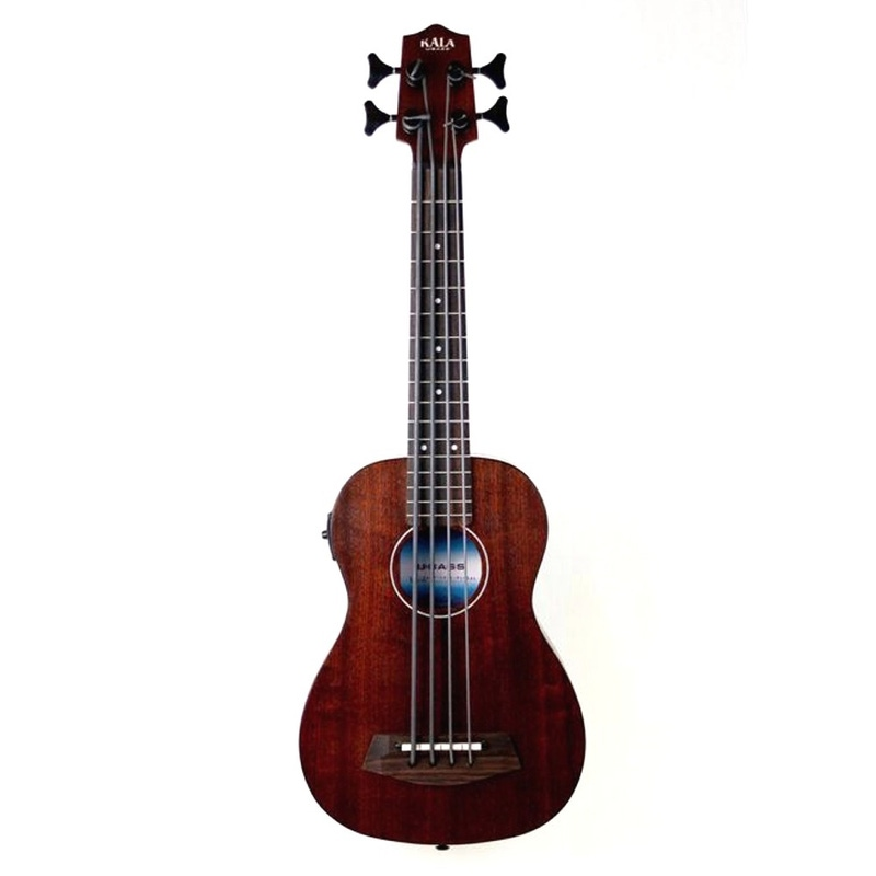 Kala U-BASS Rumbler Fretted Ukulele Bass with Gig Bag