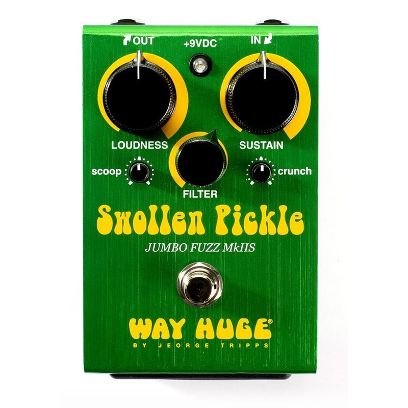 Way Huge Swollen Pickle MKIIs Jumbo Fuzz Guitar Effects Pedal