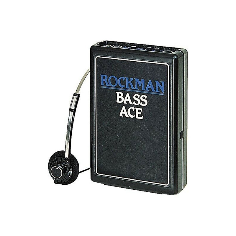 pitbull audio rockman bass ace bass guitar headphone amp. Black Bedroom Furniture Sets. Home Design Ideas