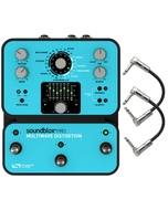 Source Audio SA140 Soundblox Pro Multiwave Distortion Guitar Effect Pedal with Patch Cables