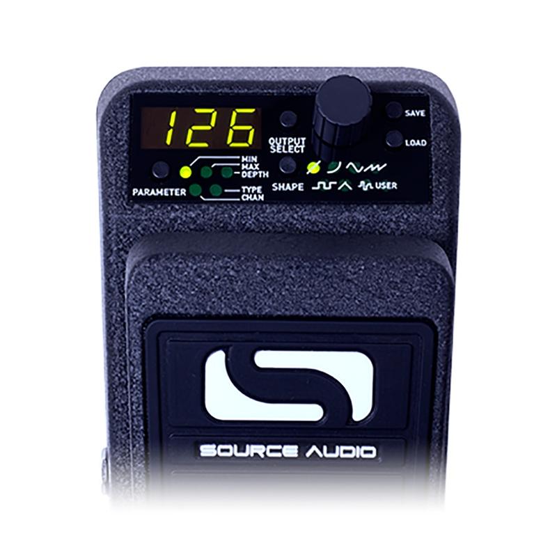 Source Audio SA163 Reflex Universal Expression Guitar Effect Pedal Controller