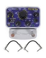 Source Audio SA224 Soundblox 2 Stingray Multi-filter Guitar Effect Pedal with Patch Cables