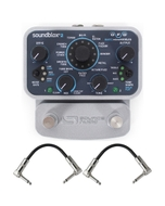 Source Audio SA228 Soundblox 2 OFD Bass microModeler Guitar Effect Pedal with Patch Cables