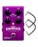 Source Audio SA245 Kingmaker Fuzz Guitar Effects Pedal with Patch Cables
