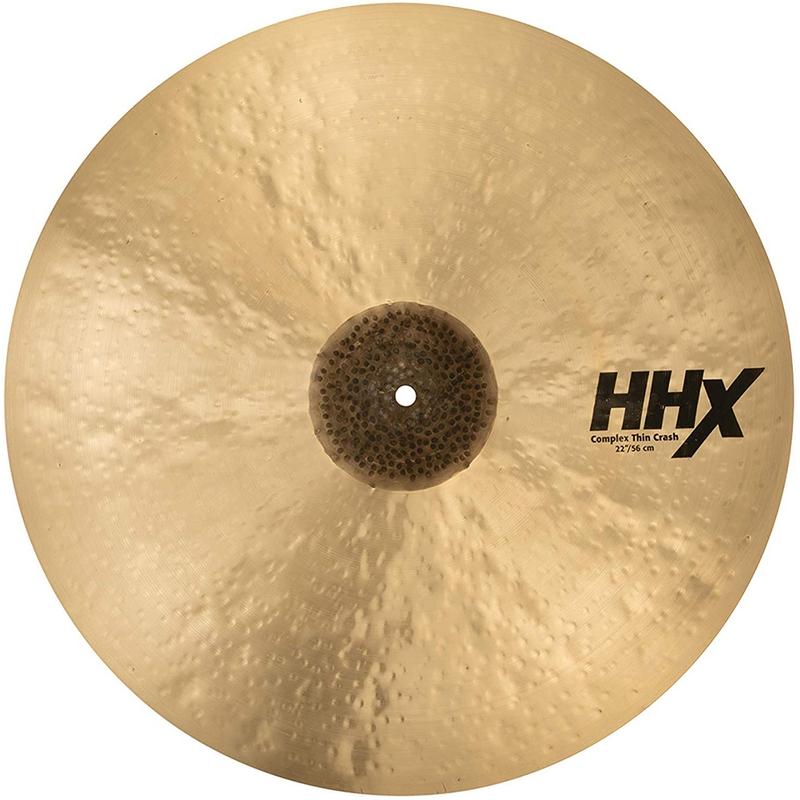 "Sabian 12206XCN 22"" HHX Complex Thin Crash Drum Set Drum Kit Cymbal"