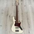 Sadowsky MetroLine 24-Fret Vintage J/J 5-String Bass, Solid Olympic White High Polish