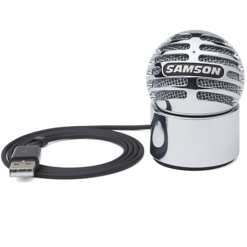 Samson Meteorite USB Condenser Microphone with 16-bit, 44.1/48kHz Resolution