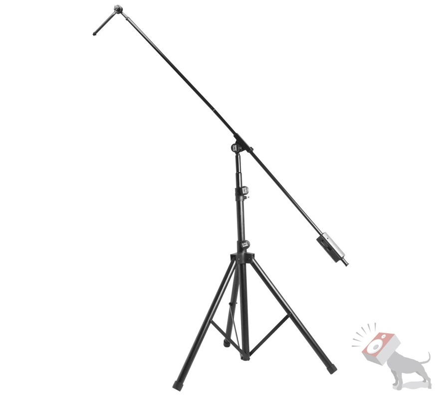 On-Stage Stands SB9600 Tripod Studio Boom Microphone Mic Stand