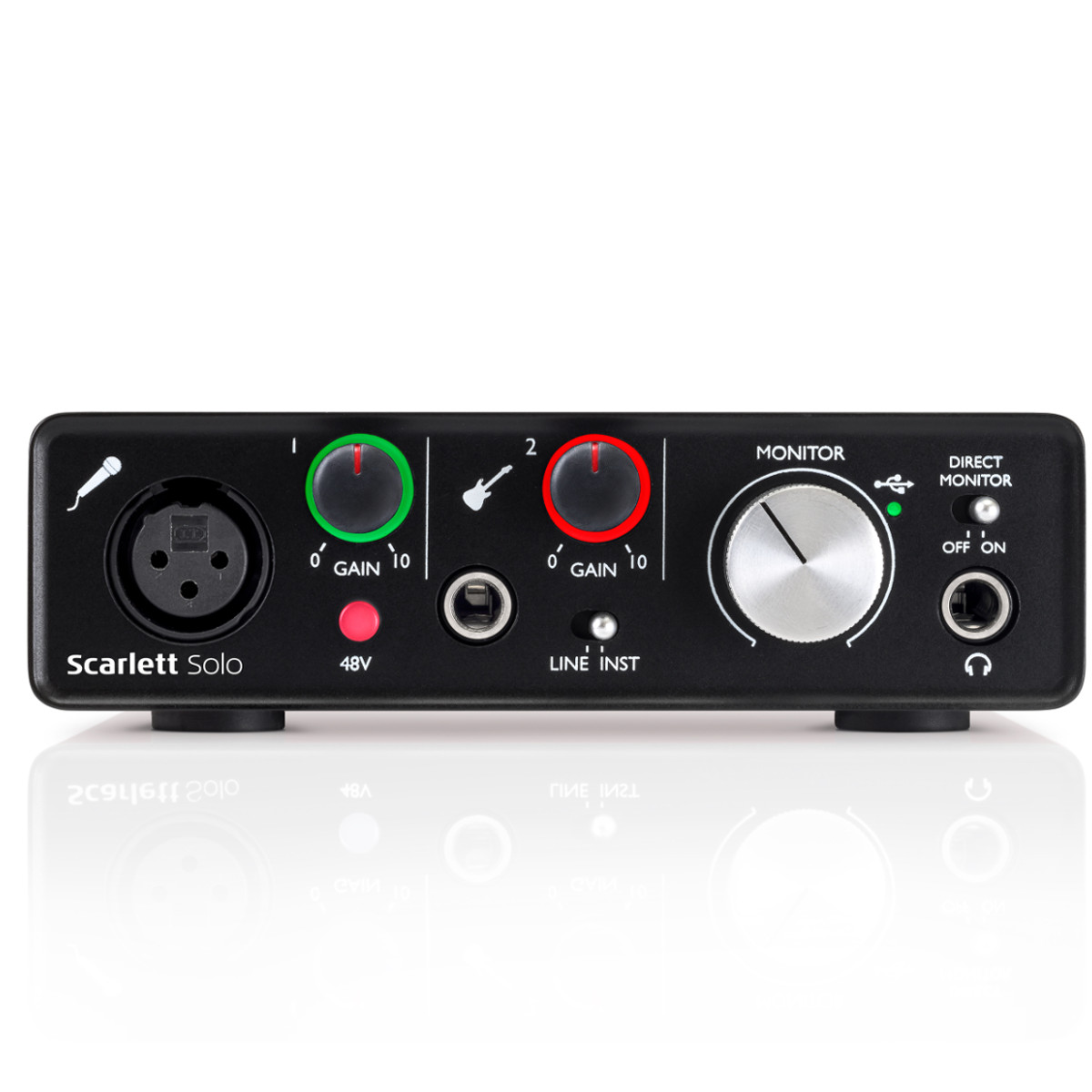 pitbull audio focusrite scarlett solo 2nd gen audio recording interface with pro tools first. Black Bedroom Furniture Sets. Home Design Ideas