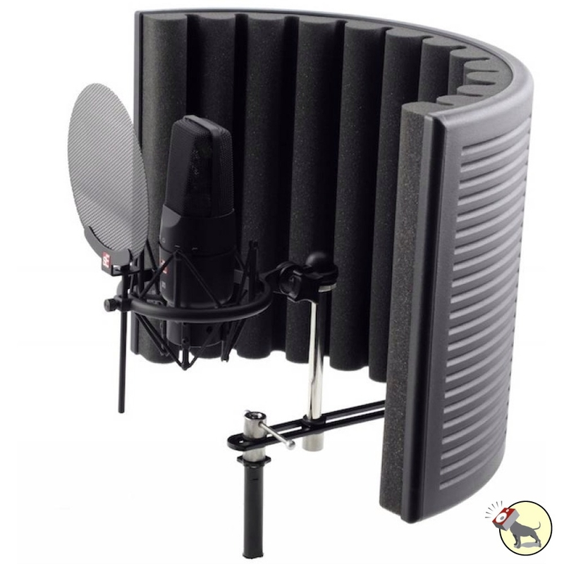 sE Electronics X1 Studio Bundle with Mic, Reflection Filter, Shock Mount, Pop Filter, and 18' Mic Cable