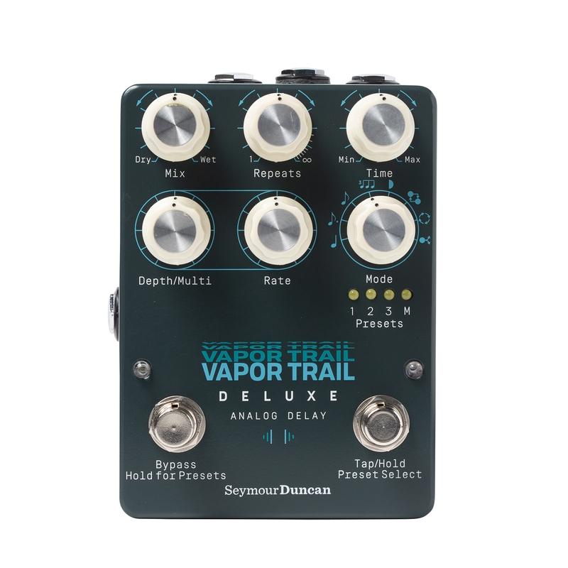 Seymour Duncan Vapor Trail Deluxe Analog Delay Pedal w/ Digital Preset Control