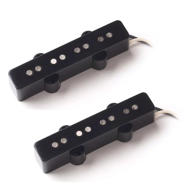Seymour Duncan SJB-1n Neck SJB-1b Bridge Vintage Jazz Bass Pickup Bundle 11401