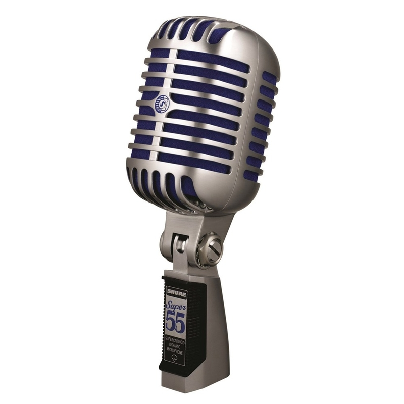 Shure Super 55 Deluxe Vocal Vintage Microphone