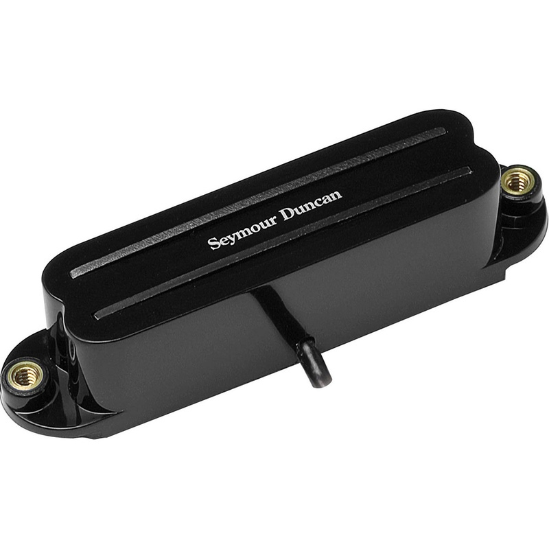Seymour Duncan SHR-1b Bridge Hot Rails for Strat Guitar Pickup Black 1120502-B