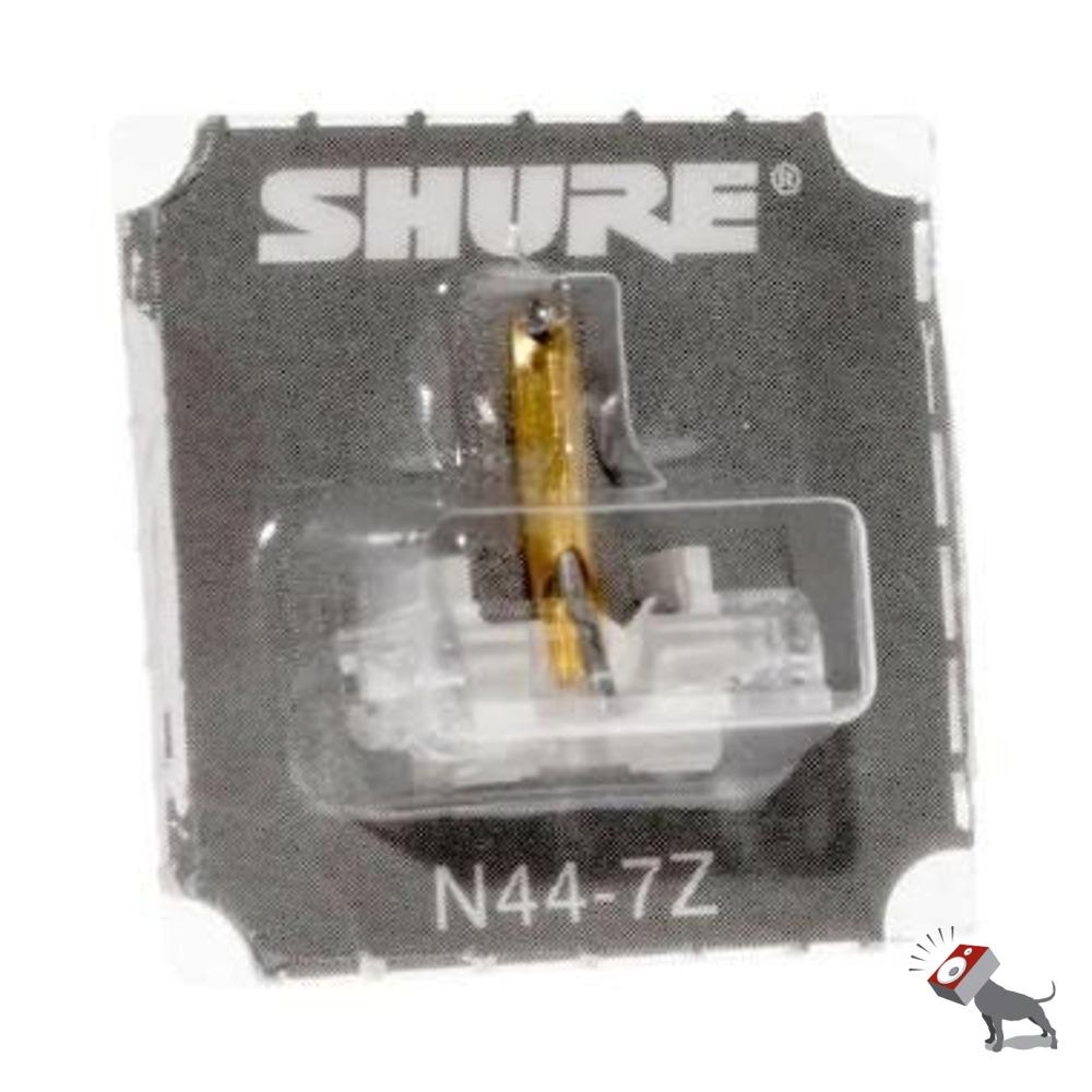 shure n44 7z replacement stylus styli needle m44 7 cartridge blister pack single ebay. Black Bedroom Furniture Sets. Home Design Ideas