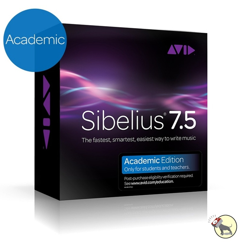 Avid Sibelius 7.5 Professional Music Notation Software (Academic)